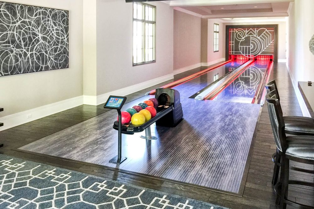 The Health Benefits of Owning a Home Bowling Alley